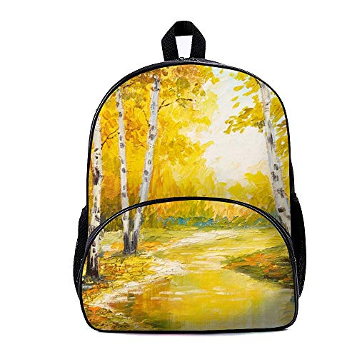 LLIGHT Casual Style Natural Scenery Lightweight Backpack School Bag Travel Daypack for Boys and Girls