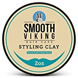 Hair Clay for Men, Best Pliable Molding Cream with Strong Hold & Matte Finish, Product for Modern...