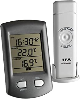 TFA 30.3034.01 - Termómetro Digital con Sensor Remoto