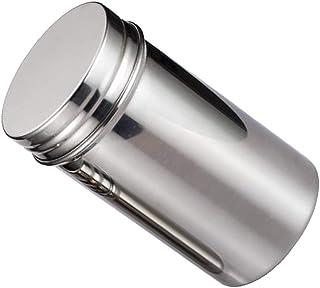 Baosity New Stainless Steel Seasoning Spice Box Tea Coffee Storage Container Cruet Jar - Small