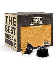 Note d'Espresso - Crème brûlée - Capsules de Boisson - Exclusivement Compatible avec les Machines Nescafé* et Dolce Gusto* - 48 x 12 g