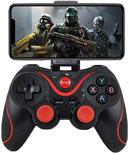 IOS Android Controller, Wireless Key Mapping Gamepad Joystick Perfect for Fotnite More, Compatible for iOS Android iPhone iPad Samsung Galaxy Other Phone - Do Not Support iOS 13.4 Game controller-comp