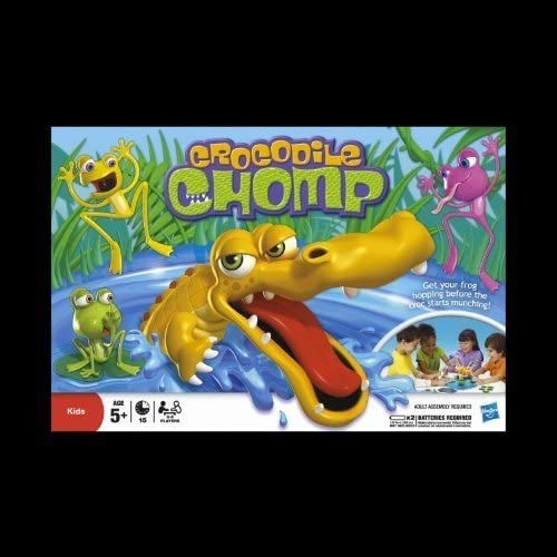 Krokodil Spiel (Anleitung auf Englisch)
