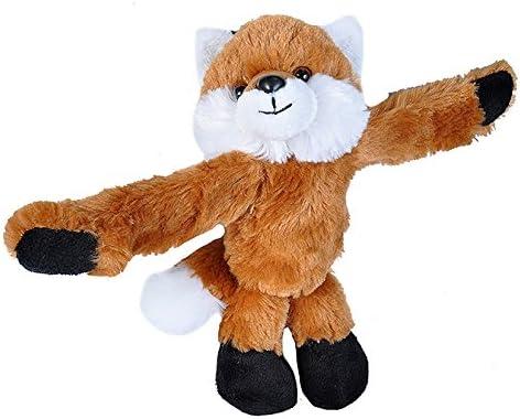 Wild Republic Huggers Red Virginia Beach Mall Fox Bracelet Anim Popular popular Stuffed Slap Plush