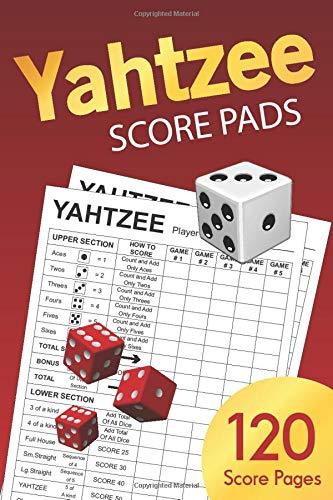Yahtzee Score Pads: Small 6 x 9 (Yahtzee Score Book)