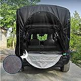 Cakunmik Tienda de automóviles Alete el toldo al Aire Libre Nieve y Tiendas de Lluvia, Camping al Aire Libre, campaña para automóviles Familiares para SUV, Hatchback, Minivan, sedán
