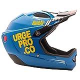 Urge ubp16320l Casco de Bicicleta de montaña Unisex, Azul/Naranja, L