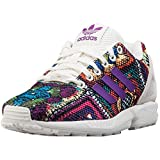 Zapatillass ZX Flux W Off White/Off White/Mid grapef07 16/17 Adidas Originals 37 1/3 Off White/Off White/Mid grapef07