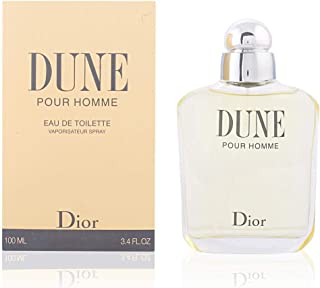 Dune By Christian Dior For Men. Eau De Toilette Spray 3.4 Ounces
