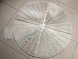 DQSUN Rejilla protectora para macetas,52cm de diametro (Diámetro 52cm)