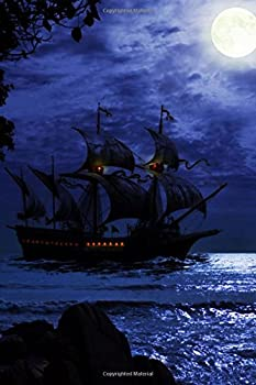 Fantasy Pirate Ship Journal  150 Page Lined Notebook/Diary