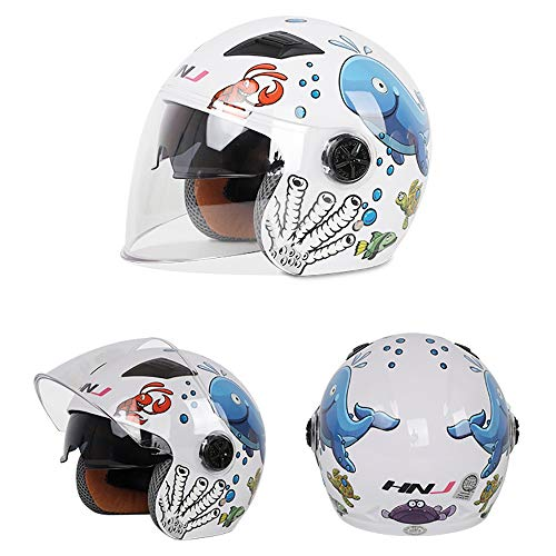Check Out This Motorcycle Helmet,Children's Helmet Moto Electric Bicycle Bicycle Cartoon Four Season...