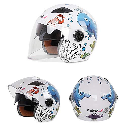 YAJAN-helmet Casco de niños,3-6 años Bicicleta Moto Niñas Chicos Bicicleta Niño Casco...