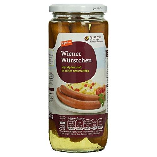 tegut... Wiener Würstchen, 250 g