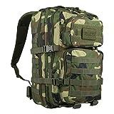 Mil-Tec US Assault Pack Backpack,L,Woodland