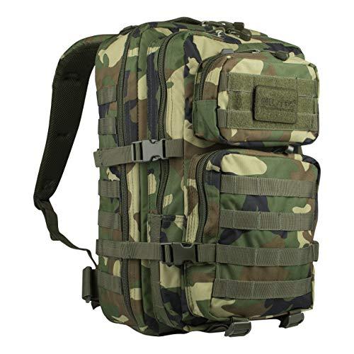 Mil-Tec EE.UU. Mochilla Assault Pack (Small/Woodland)
