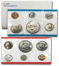 1978 US 12 Piece Mint Set In original packaging from US mint Uncirculated