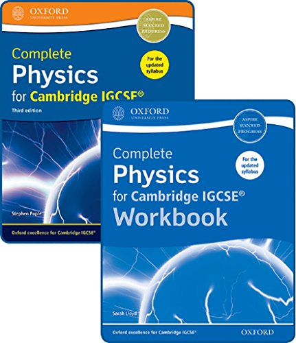 Complete Physics for Cambridge IGCSERG Student Book and Workbook Pack (CIE IGCSE Complete Series)
