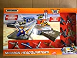 Matchbox Sky Busters Missions: Mission Headquarters Playset with 10 Aircraft