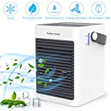 Manwe Portable Air Cooler, Small 3 In 1 Air Conditioner Cooler and Humidifier,Mini Evaporative Coolers...