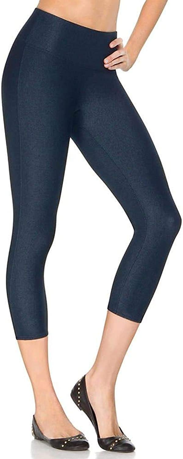 SPANX LookatMe Capri Leggings (1424A) Indigo bluee