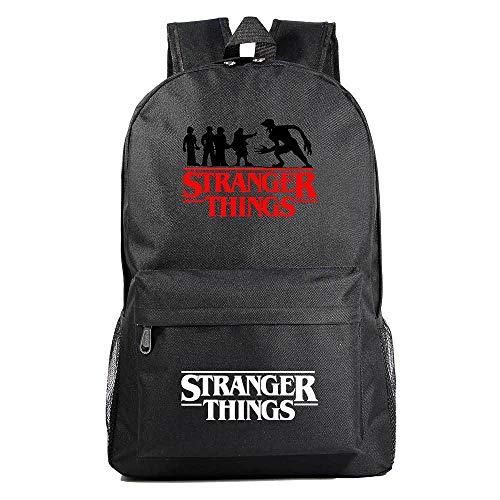 Stranger Things Zaino per scuola, zaino da viaggio resistente all'acqua, borsa per computer da scuola per uomo e donna Adatto per laptop e notebook da 15.6 pollici