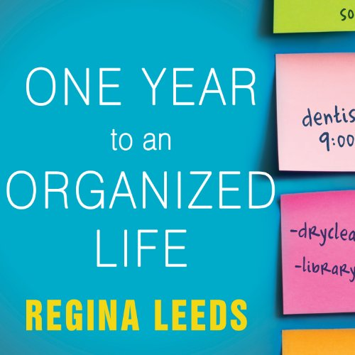 One Year to an Organized Life audiobook cover art