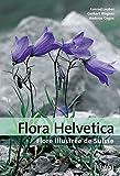Flora Helvetica - Flore illustrée de Suisse: avec 3200 descriptions de plantes à fleurs, de fougères et de plantes cultivées, avec cartes de distribution