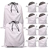 Best Bag Handbags - 10 Pack Cotton Breathable Drawstring Dust Covers Large Review