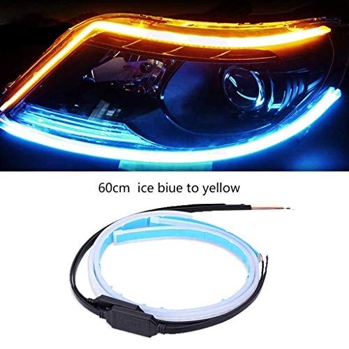 JDD 45 cm / 60 cm sequentielle LED-Streifen, Blinker, Umschaltanzeige, Tagfahrlicht