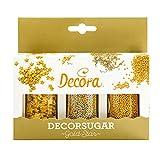 Decora Decorazioni in Zucchero Oro - 100 g