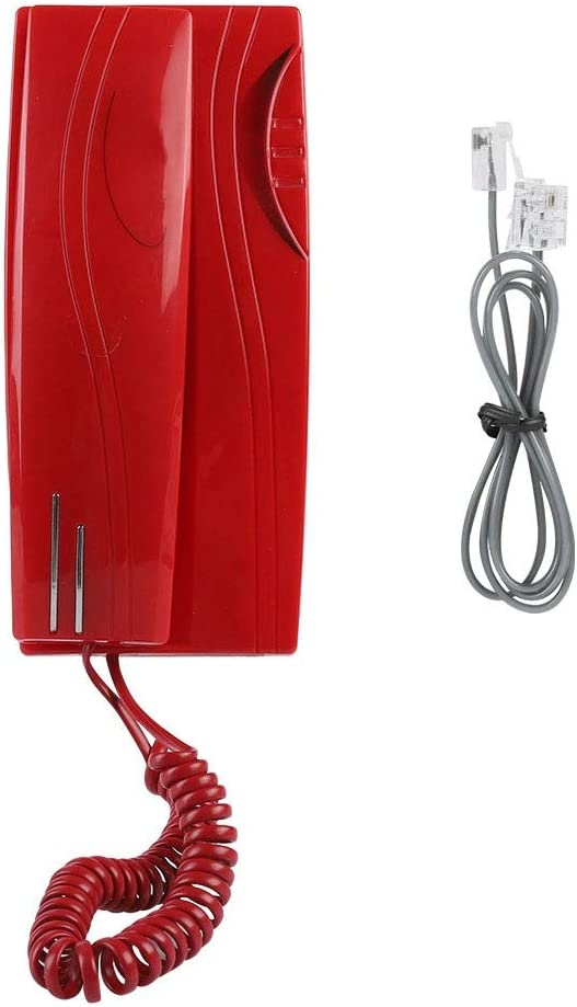 Wired Telephone Mini Wall Mounted Fi Office Home Sale Max 78% OFF item Landline