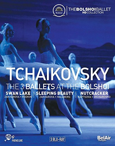 Tschaikowsky: The 3 Ballets at the Bolshoi [3 Blu-rays]
