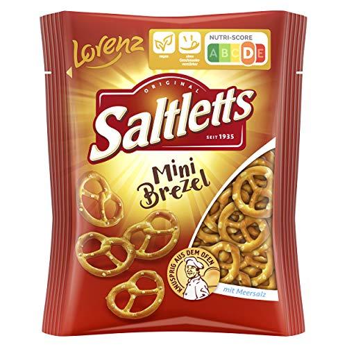Lorenz Snack World Saltletts Mini Brezel, 20er Pack (20 x 40 g)