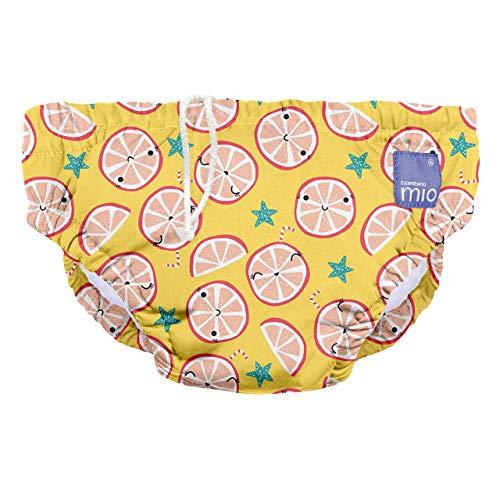 Bambino Mio SWPL COO Bambino Mio, Wiederverwendbare Schwimmwindel, Lässige Limone, L (1-2 Jahre), mehrfarbig