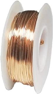 26 Ga Phosphor Bronze 1/4 Lb. Spool Round Wire (Dead Soft)