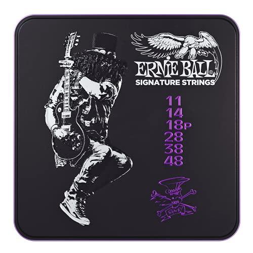 Ernie Ball Slash Signature - Corde per chitarra, set triplo da 11 a 48