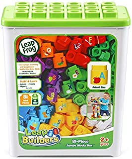 LeapFrog LeapBuilders 81-Piece Jumbo Blocks Box