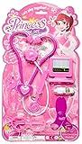 LG-Imports Maletín de médico Princesa 7 piezas, color lila