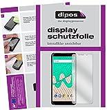 dipos I 2X Schutzfolie klar kompatibel mit Wiko View Max Folie Bildschirmschutzfolie