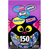 Ferrara Monster Bag Mix Variety Pack Individually Wrapped Candies, 150 Count, 58 Ounce Candy Ba…