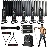 HPYGN Resistance Bands Set, Exercise Bands with Handles, Ankle Straps, Door Anchor, Carry Bag, Great for Resistance Training, Physical Therapy, Yoga, Home Workouts