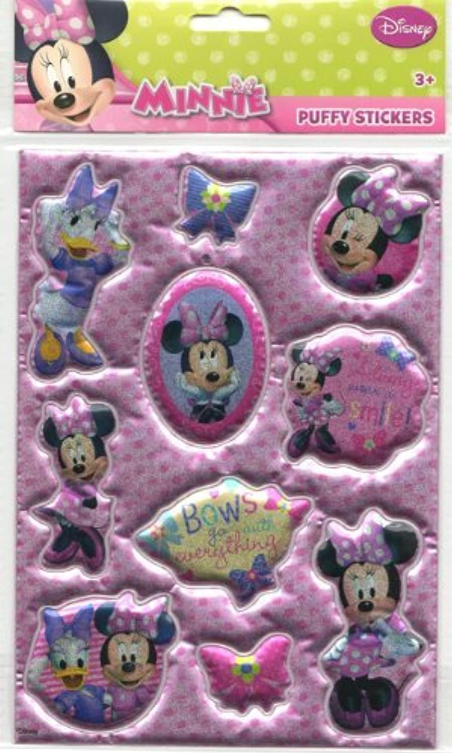 Minnie Bowtique ( Minnie Mouse ) Puffy Stickers ( seal Plump ) [ parallel import goods ] by Select Shop TICKTACK