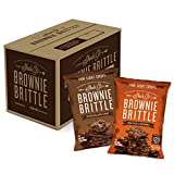 Sheila G's Brownie Brittle 1oz Variety Pack- Low Calorie, Sweets & Treats Dessert, Healthy Chocolate, Thin Sweet Crispy Snack-Rich Brownie Taste with a Cookie Crunch- 1oz. Bag, Pack of 20 by Brownie Brittle