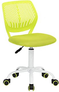 GreenForest Desk Chair for Kids Teens Small Office Computer Student Chair No Arms Low..
