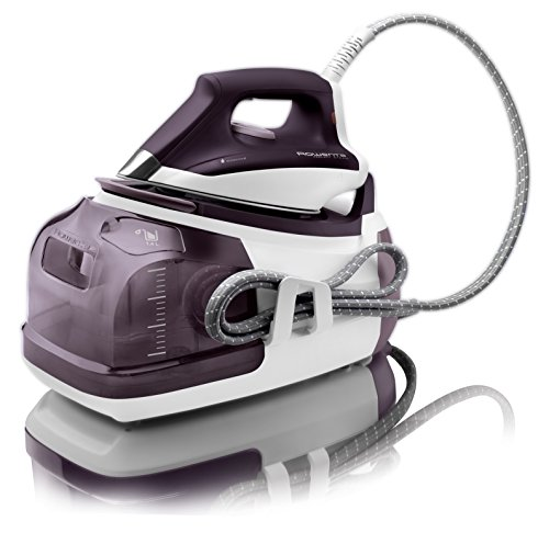 Rowenta DG8520 Perfect Steam 1800-Watt Eco Energy Steam Iron Station Stainless Steel Soleplate
