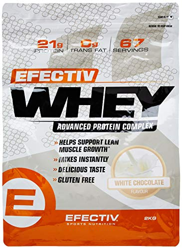 Efectiv Whey 2kg White Chocolate