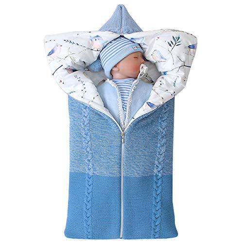 Manta para bebé con cierre de cremallera, saco de dormir para bebé recién nacido regalo perfecto para baby shower