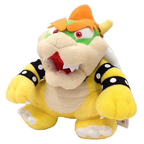 Yijinbo Super Mario Bros King Bowser Koopa Kooper Boss Peluche Animal en peluche 22,9 cm