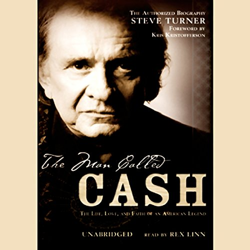 The Man Called Cash audiobook cover art